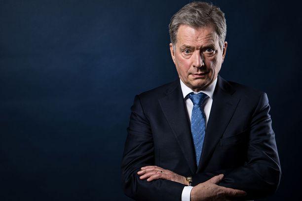 Presidentti Sauli Niinistö hakee jatkokautta valitsijayhdistyksen ehdokkaana.