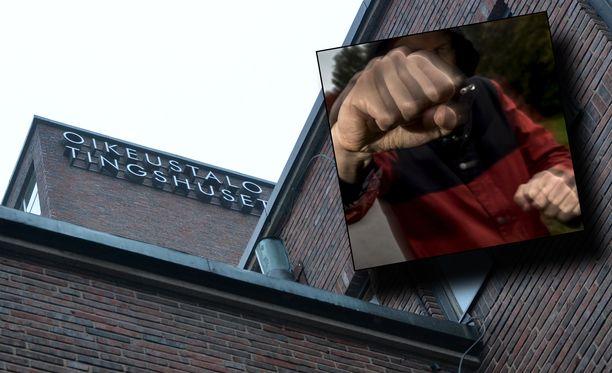 Helsingin käräjäoikeus käsittelee vuonna 1980 syntyneen rakennuspomon tapposyytettä.