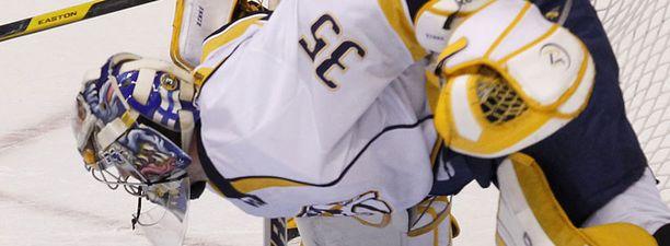Ottelun alku oli Pekka Rinteelle vaikea.