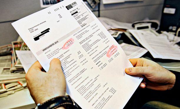 Jäännösveroja eli mätkyjä tulee maksettavaksi 778 000 ihmiselle yhteensä 1,1 miljardia euroa.