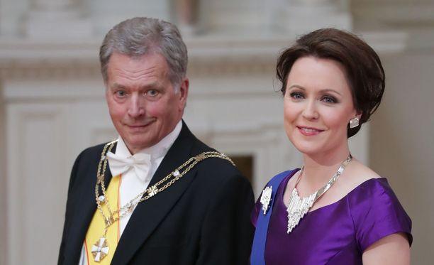 Presidentti Sauli Niinistö ja rouva Jenni Haukio isännöivät Linnan juhlia viimeisen kerran ennen vaaleja.