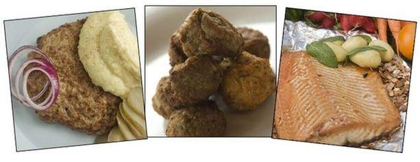 Suomalaiset pitävät pihveistä, lihapullista ja paistetusta kalasta.