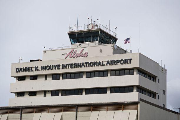 Onnettomuuskone nousi Honolulun kansainväliseltä lentokentältä.