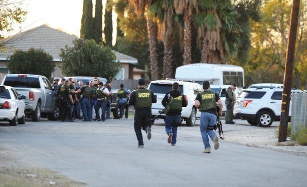 San Bernardinon ampumisessa sai surmansa ainakin 14 ihmistä.
