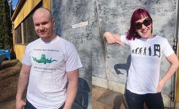 Lauri ja Anni Vuohensilta saivat pyynnön Valkoisesta talosta.