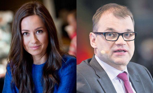 Jaana Pelkonen ja Juha Sipilä ylsivät naisten ja miesten parhaaseen äänipottiin.