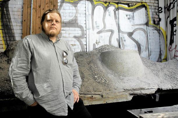 Lastauslaituri jäi Juha-Matti Soonin kodittomuuden viimeiseksi pysäkiksi.