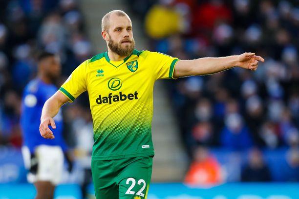 Teemu Pukki edustaa toista kautta Norwich Cityä.