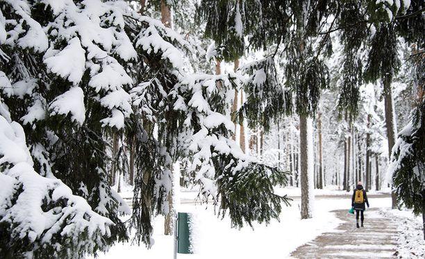 Viikonloppu ja ensi viikko tuovat maistiaisen odotetusta talvesta myös Etelä-Suomeen.