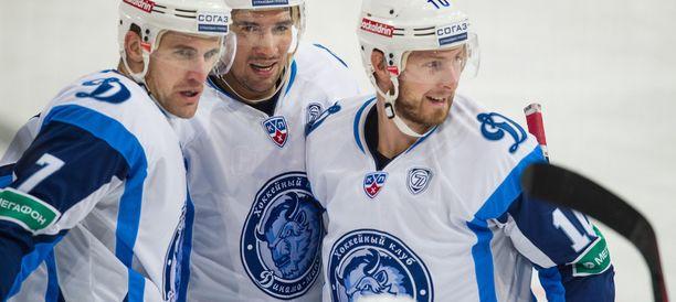 Minsk on aloittanut KHL-kauden jatkoaikatappiolla ja maalin tappiolla (Spartak ja SKA). Arkistokuva.