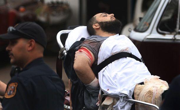 Ahmad Khan Rahami jäi kiinni tulitaistelun jälkeen maanantaina.