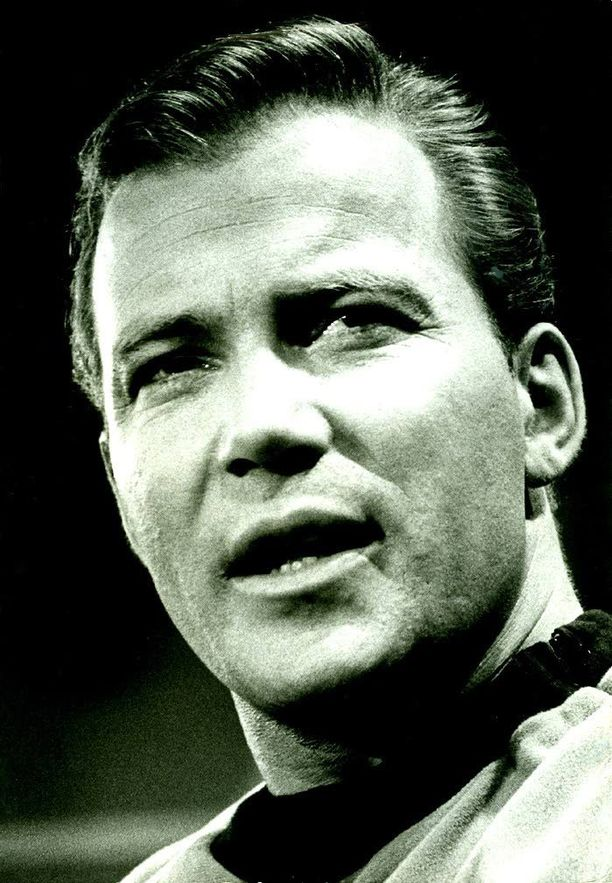 William Shatner oli tähtilaiva Enterprisen kapteeni James T. Kirk.