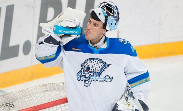 Henrik Karlsson nollasi Jokerit, jota edusti KHL:ssä kaksi kautta, 2014-2016. Arkistokuva.