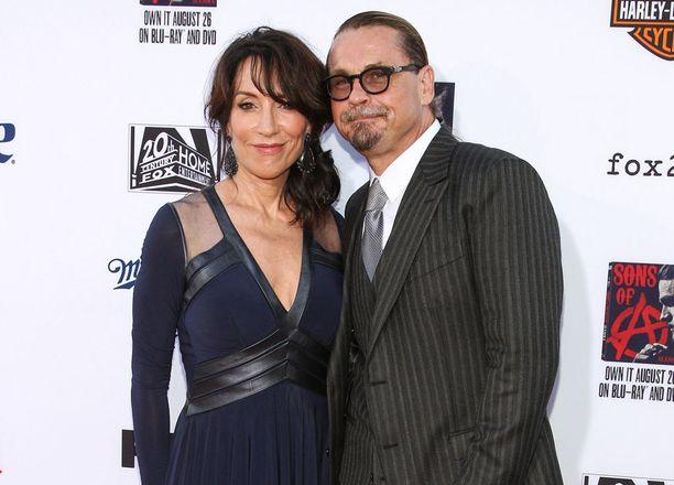 Katey Sagal on naimisissa ohjaaja Kurt Sutterin kanssa.