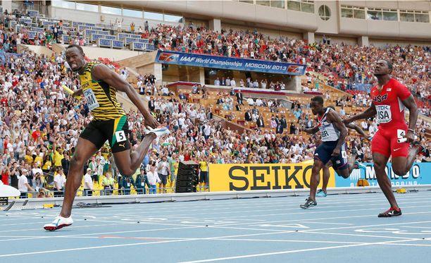 Usain Bolt juoksi Jamaikan ankkuriosuuden.