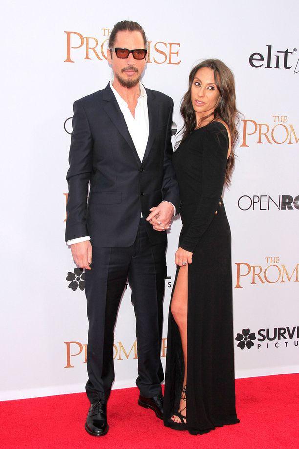 Chris ja Vicky Cornell olivat naimisissa vuodesta 2004 alkaen.