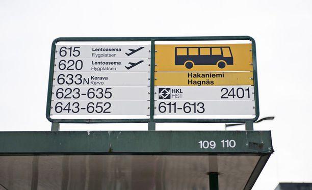 Pääkaupunkiseudulla useita linja-autovuoroja on peruttu bussiyhtiö Nobinan työnseisauksen takia.