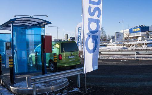 IL:n tiedot: Kaasuautoilu helpottuu - Suomeen uusia asemia