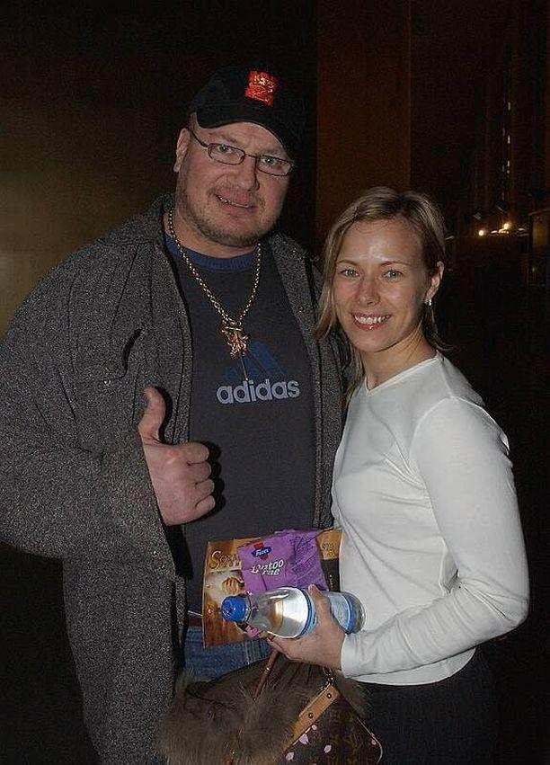 Tony ja Katja Halmeen liitto kesti seitsemän vuotta.