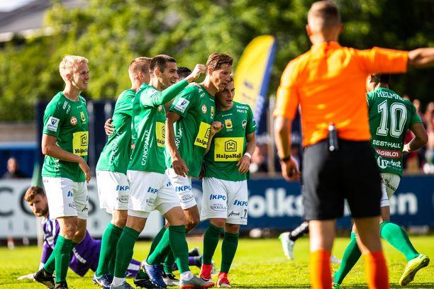 KPV avasi hiljattain voittotilinsä kotiyleisön edessä. Lauantaina vastaan asettuu SJK.