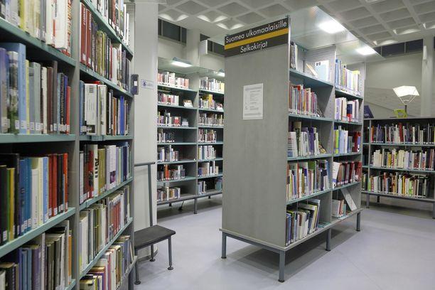 Kirjastot ovat olleet suljettuina ympäri maan. Kuva Joensuun keskuskirjastosta.