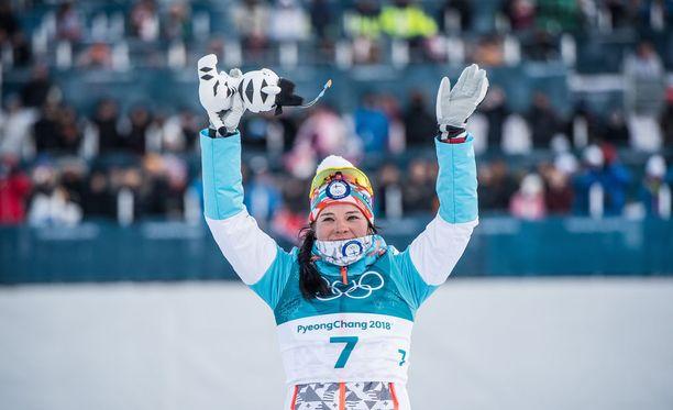 Krista Pärmäkoski voitti yhdistelmäkisan pronssia Koreassa.
