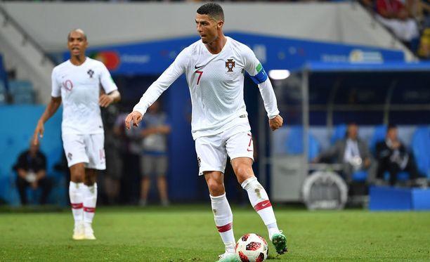 Cristiano Ronaldo on yksi urheilullisimmistä ihmisistä, mitä maa päällään kantaa.