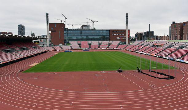 Ratinan stadionille otetaan Ruotsi-otteluun noin 3 000 katsojaa per päivä. Maskien käyttöä suositelleen, katsojille tarjolla käsidesiä.