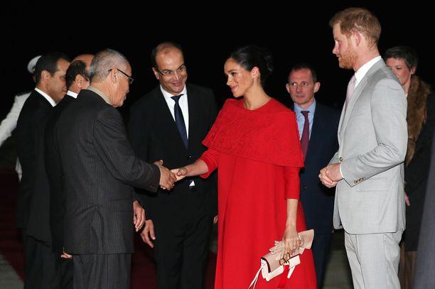 Herttuaparin Marokon-vierailu kestää kolme päivää.