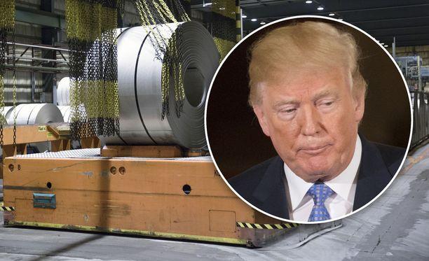 New York Timesin mukaan Yhdysvaltain presidentin Donald Trumpin määräämät teräksen 25 prosentin tuontitulli kolahtaa myös Outokummun amerikkalaisiin asiakasyrityksiin.