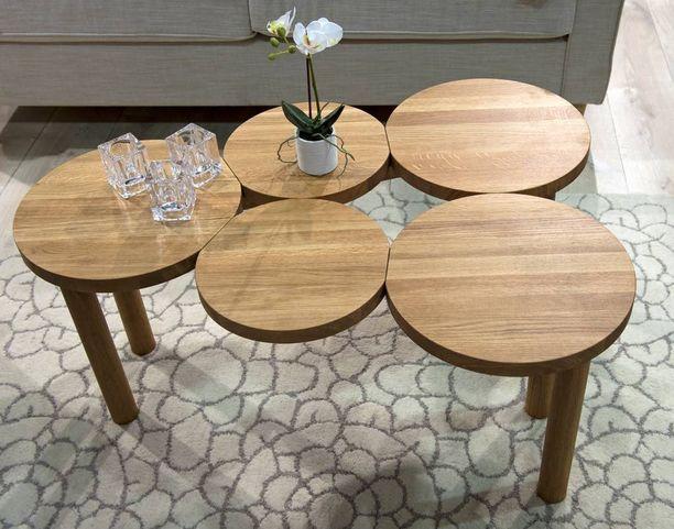 Woodekin viiden palan pöytä ei ole vain koriste.