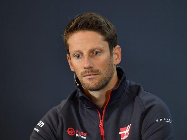 Romain Grosjean ei aja Haas-tallissa enää ensi kaudella.