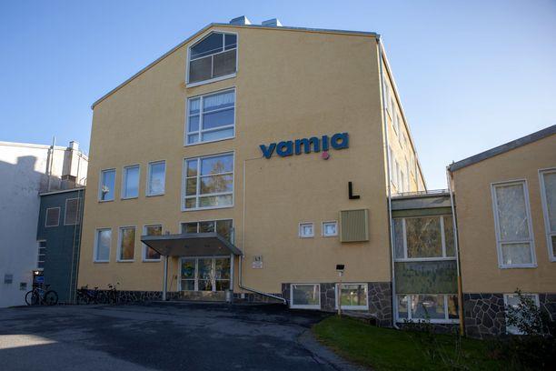 Puukotus tapahtui ammattiopisto Vamian Sampo-kampuksella Sepänkyläntiellä.