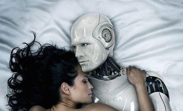 Tieteiskirjallisuudessa ja -elokuvissa seksi ihmisten ja robottien välillä on yleinen aihe.