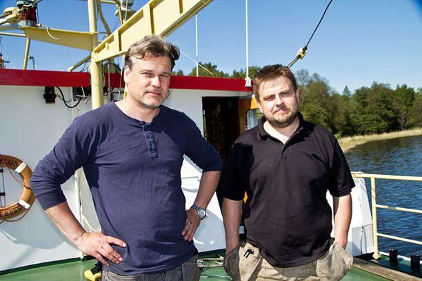 Peter Lindberg ja Dennis Åsberg.