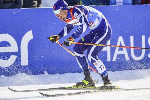Ristomatti Hakolan pariviesti päättyi Alpeilla rajuun pettymykseen.