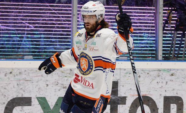 NHL:ssä sivuraiteelle joutunut Ville Leino on löytänyt paikkansa Växjöstä.