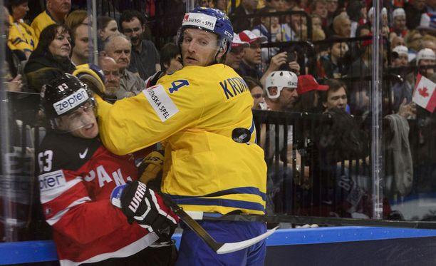 Ruotsi joutuu tulemaan Venäjää vastaan toimeen ilman Staffan Kronwallia.
