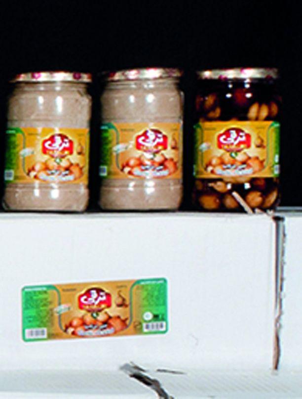 Heroiini oli pakattu samoihin purkkeihin, missä myös elintarvikkeita kuljetettiin.