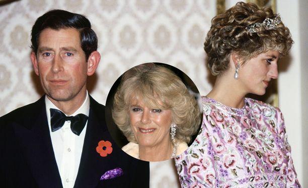 Charlesin ja Dianan avioliitto oli onneton. Camilla lohdutti prinssiä kulisseissa.