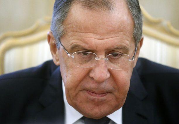 Venäjän ulkoministeri torjuu kaikki syytökset.