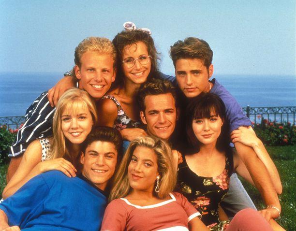 Tästä ydinjoukosta Beverly Hills 90210 muistetaan.