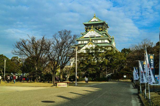 Osakan linna on yksi Japanin kuuluisimmista rakennuksista.