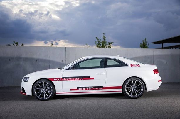 Turbopotku jää historiaan, kun sähköturbo valloittaa markkinat. Audi on testannut sähköturboa RS 5 TDI -konseptiautossaan.