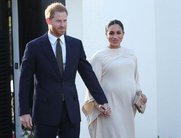 Harry ja Meghan valmistautuvat kuninkaallisen lapsen syntymään.
