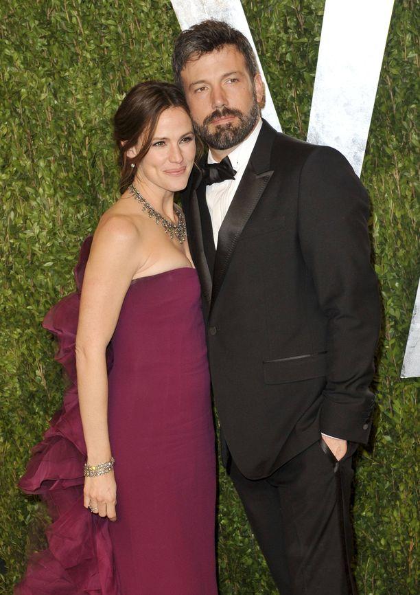 Jennifer Garner ja Ben Affleck erosivat vuonna 2015.