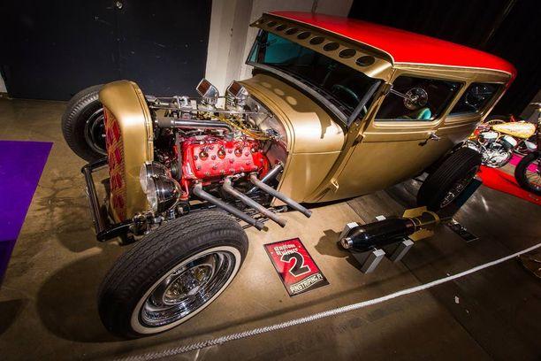 1930-luvun autossa ei tarvita äänenvaimentimia.