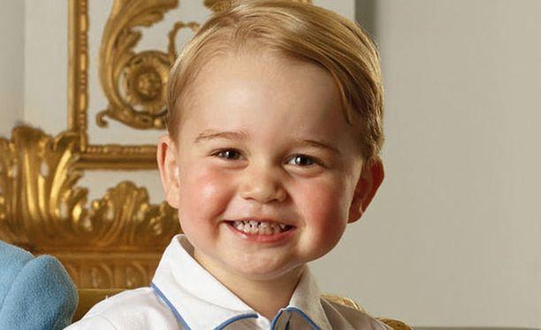Prinssi George on melkoinen hurmuri.