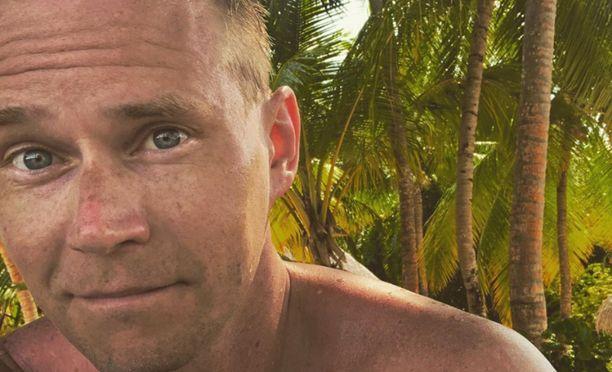 Kainuulainen Kalle Virtanen kohtasi Malediiveilla yllätystuttavia.