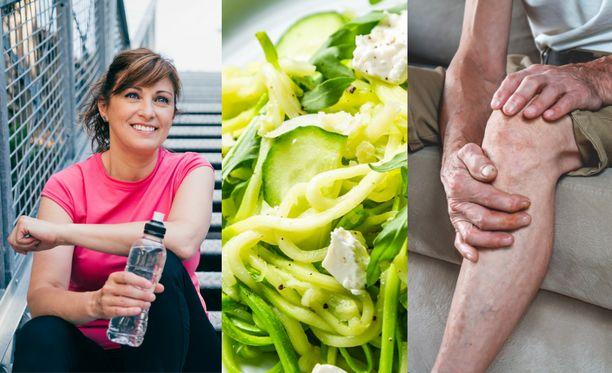 Elimistö vanhenee vääjäämättä, mutta muutoksia voi elintavoilla hidastaa.